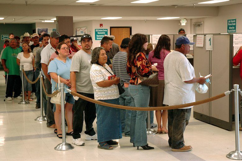 Chômage réel aux Etats-Unis: 39%