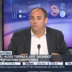 Olivier Delamarche sur BFM Business le Lundi 08 Juin 2015