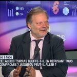 """Philippe Béchade: """" Les banques grecques n'ont plus de fonds propres, elles sont en faillite ! """""""
