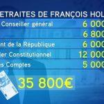 Une retraite de 36.000 euros par mois pour François Hollande ?
