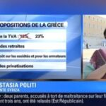 Anastasia Politi, militante du parti Syriza prend à partie BFMTV en direct et l'accuse de faire de la propagande