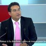 Charles Sannat: Retour à la drachme : gains et risques