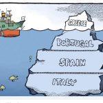 La crise grecque constitue la partie émergée de l'iceberg