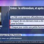 """Marc Fiorentino: """" Chaque jour qui passe coûte une petite fortune à la Grèce ! """""""