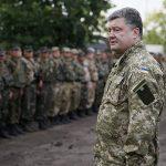 Nombre record de troupes russes à la frontière, selon Porochenko