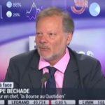 Philippe Béchade: on a jamais assisté à ce scénario sauf une fois dans l'histoire, c'était en octobre 1987 !