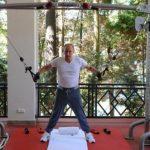 Russie: Poutine et Medvedev font de la musculation ensemble