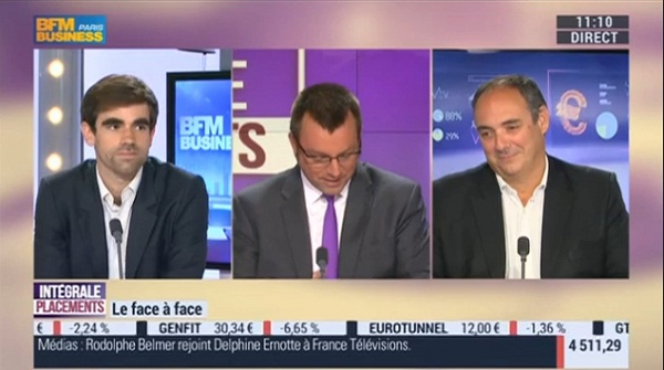 Olivier Delamarche et Pierre Sabatier sur BFM Business le Lundi 23 Mai 2016