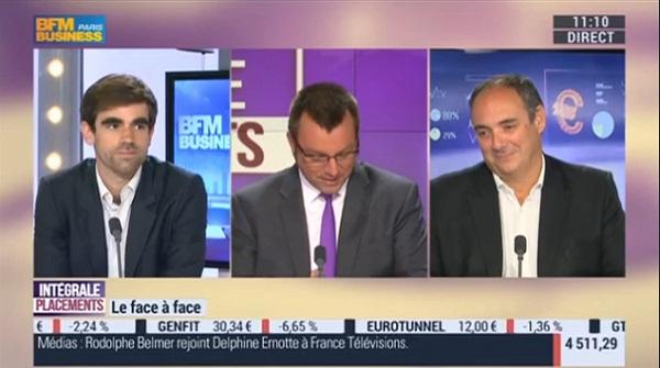 Olivier Delamarche et Pierre Sabatier sur BFM Business le Lundi 23 Mai 2016