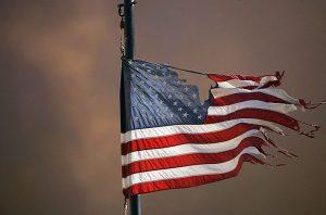american-decline-flag