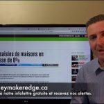 """MoneyMakerEdge: Québec: On a une augmentation des saisies de maisons de 8 % ! """""""