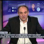 Olivier Delamarche: QE: La BCE cherche à soigner un problème de dette en créant plus de dette et de déflation