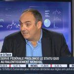 Olivier Delamarche sur BFM Business le Lundi 21 Septembre 2015