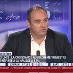 """Olivier Delamarche: """"La croissance ? A chaque fois, on truque les chiffres et on est dans un monde qui ne fait que ça ! """""""