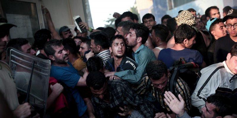 Migrants refugies