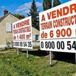 Immobilier: chute des ventes de terrains constructibles en Ile-de-France