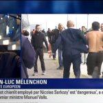 """Jean-Luc Mélenchon: """" Je dis merci aux salariés d'Air France ! """""""