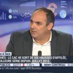 Olivier Delamarche sur BFM Business le Lundi 12 Octobre 2015