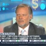 Philippe Béchade: L'accélération de l'inflation aux Etats-Unis vient uniquement de la hausse de 0,4% du loyer en septembre