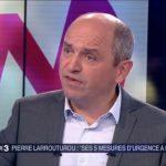 """Pierre Larrouturou: """" Si on ne change pas de politique, le chômage et la précarité vont flamber ! """""""