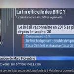 Marc Fiorentino: Goldman Sachs annonce la fin des BRIC