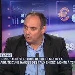 """Olivier Delamarche: Emploi USA: """" Vous avez eu 119.000 licenciements dans la tranche d'âge des 25-54 ans """""""
