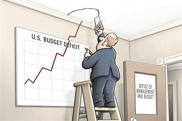 Le ministère du Trésor US vient de publier le plus important déficit budgétaire mensuel en 6 ans