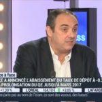 Olivier Delamarche: BCE: » Monter les QE ça ne relance pas l'inflation»