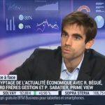 Pierre Sabatier sur BFM Business le Jeudi 10 Décembre 2015