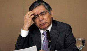 Haruhiko Kuroda, le gouverneur de la banque centrale du Japon.