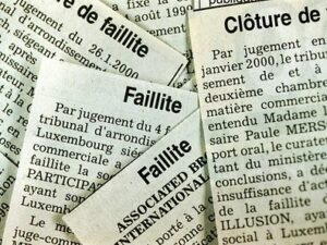 Luxembourg: les faillites repartent à la hausse