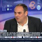 Olivier Delamarche sur BFM Business le Lundi 04 Janvier 2016
