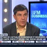 """Jacques Sapir sur BFM Business le Mardi 16 Février 2016: """" les risques systémiques sont extrêmement importants !"""""""