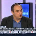 Olivier Delamarche sur BFM Business le Lundi 1er Février 2016