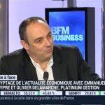 Olivier Delamarche sur BFM Business le Lundi 22 Février 2016