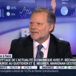 Philippe Béchade sur BFM Business le Mercredi 16 Mars 2016: » les pressions déflationnistes sont inexorables !»