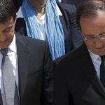 Nouvelle forte baisse des cotes de popularité de Hollande et de Valls
