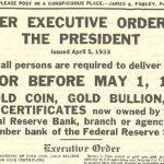 Le gouvernement va-t-il vous confisquer votre or ?