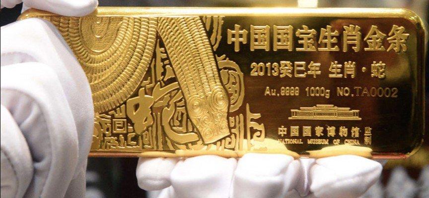 L'or en Chine… des réserves de plus en plus importantes