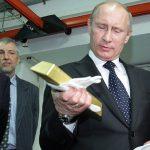 De l'or à la place du dollar pour les Russes !