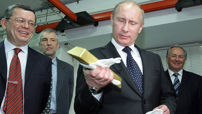 La Russie a accru ses réserves d'Or de près de 31,1 tonnes sur le mois d