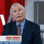 """John Embry: """"De nombreux dangers menacent maintenant de détruire le système financier mondial"""""""