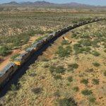 USA: Effondrement du trafic ferroviaire: 292 locomotives de la Pacific Union végètent dans le désert de l'Arizona