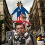 Les Espagnols dans la rue contre l'austérité