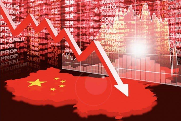 Ouch ! La croissance chinoise à son plus faible niveau depuis 27 ans !!