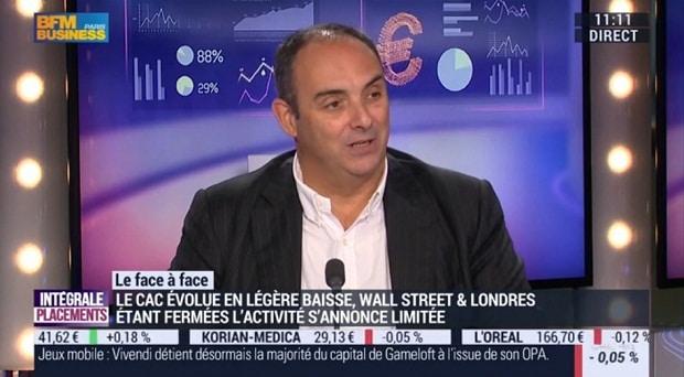 Olivier Delamarche sur BFM Business le 30/05/16: 70 % du marché japonais est acheté par la banque du japon