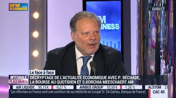 Philippe Béchade sur BFM Business le 18/05/16: il y a 10 % de taux de défaut potentiel sur les obligations chinoises