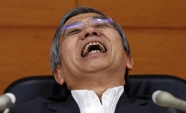 Encore plus de pognon grâce à la banque centrale au Japon !