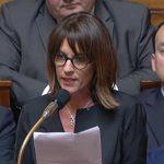 """Budget des communes: une députée LR crie à """"la plus grande faillite de France"""""""
