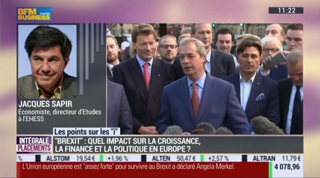 Jacques Sapir: Quelles seront les conséquences du Brexit pour l
